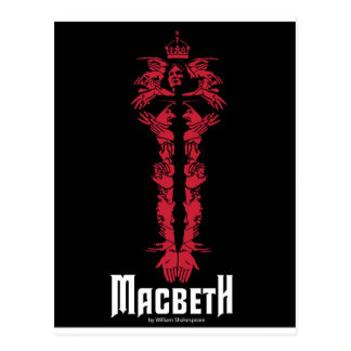 Macbeth Postcard
