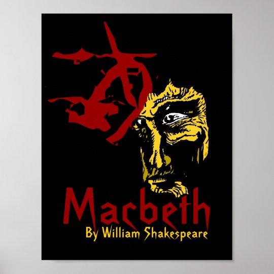 Macbeth Poster Shakespeare Festival Theatre Arts