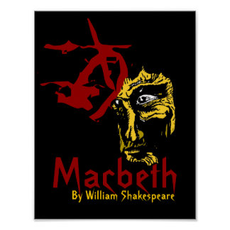 Macbeth Promotional Poster Shakespeare Festival