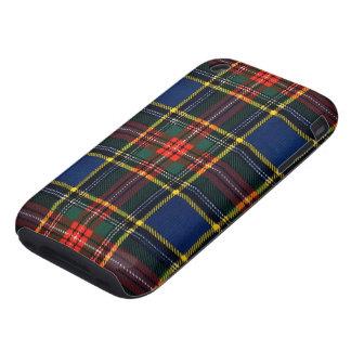 Macbeth Tartan iPhone 3 Tough Cases