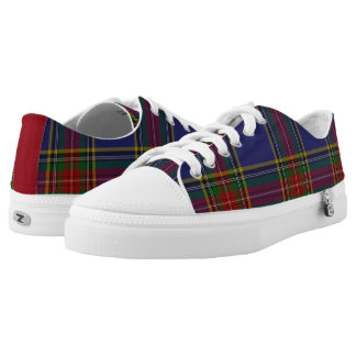 MacBeth Tartan Plaid Tennis Shoes Printed Shoes
