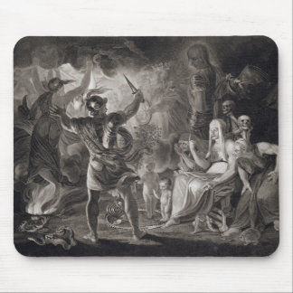 Macbeth, the Three Witches and Hecate in Act IV, S Mouse Mat