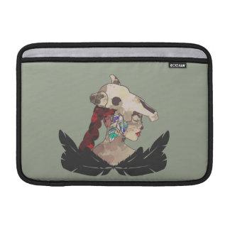 Macbook Air 11 Horizontal line, warlike princess MacBook Sleeve