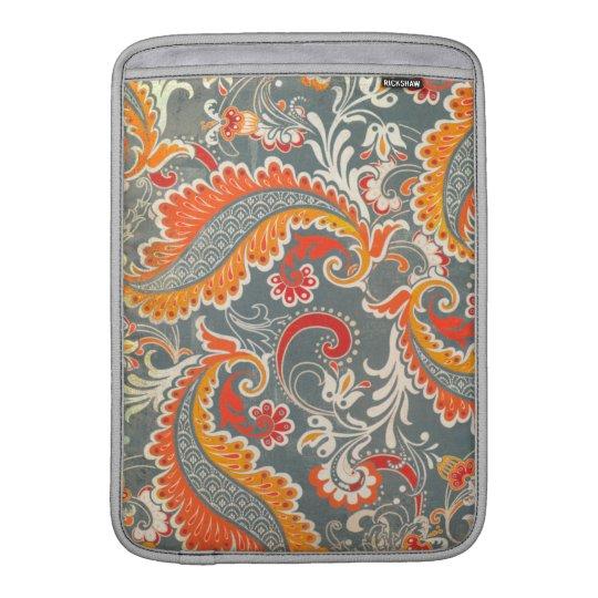 MacBook Air Rickshaw Sleeve -- Floral Sleeve For MacBook Air