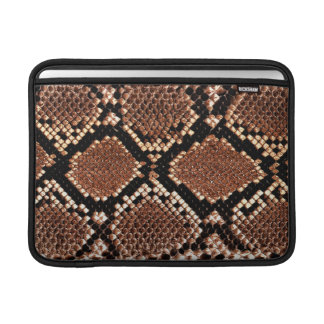 MacBook Air Sleeve - Boa Snakeskin