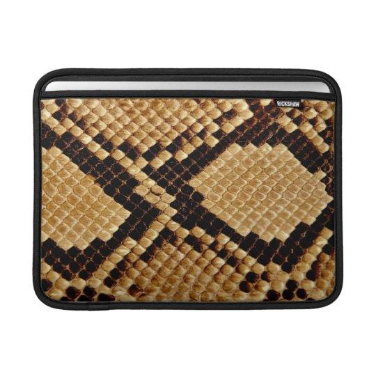 MacBook Air Sleeve - Burmese Snakeskin
