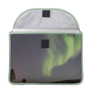 "Macbook Pro 13"" Flap Sleeve, Northern Green Lights Sleeves For MacBooks"