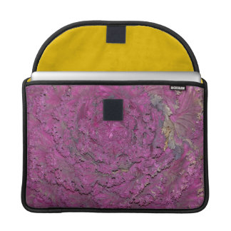 MacBook Pro Flap Sleeve with purple cabbage Sleeves For MacBook Pro