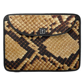 MacBook Pro Sleeve - Burmese Snakeskin
