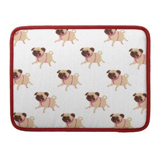 Macbook Pro Sleeve with Pugs! <3