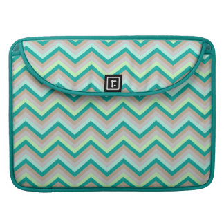 MacBook Sleeve  Retro Zig Zag Chevron Pattern