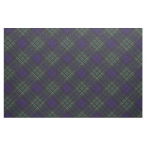 Maccallum clan Plaid Scottish tartan Fabric
