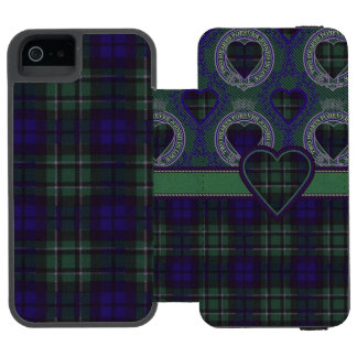 Maccallum clan Plaid Scottish tartan Incipio Watson™ iPhone 5 Wallet Case