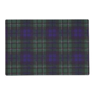 Maccallum clan Plaid Scottish tartan Laminated Placemat