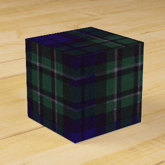 Maccallum clan Plaid Scottish tartan Wedding Favour Boxes