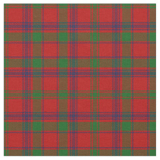 MacColl Clan Tartan Fabric