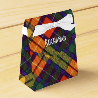 MacCubie clan Plaid Scottish kilt tartan Favour Boxes