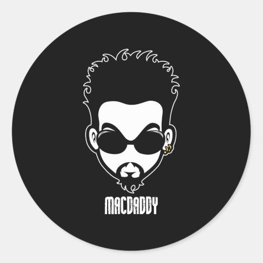Macdaddy Classic Round Sticker