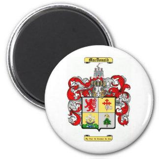 macdonald 6 cm round magnet