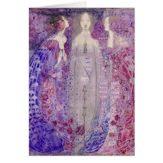 MacDonald Art Nouveau The Three Perfumes Card