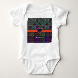 Macdonald clan Plaid Scottish tartan Tshirt