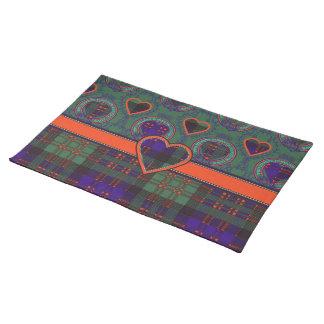 Macdonald Clan Scottish tartan Place Mats