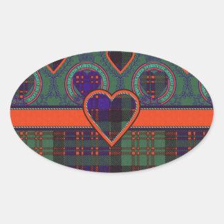 Macdonald Clan Scottish tartan Sticker