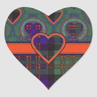 Macdonald Clan Scottish tartan Stickers