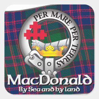 MacDonald Clan Sticker