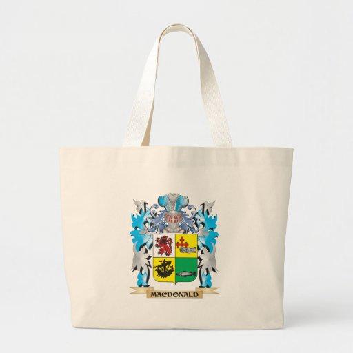 Macdonald- Coat of Arms - Family Crest Tote Bag