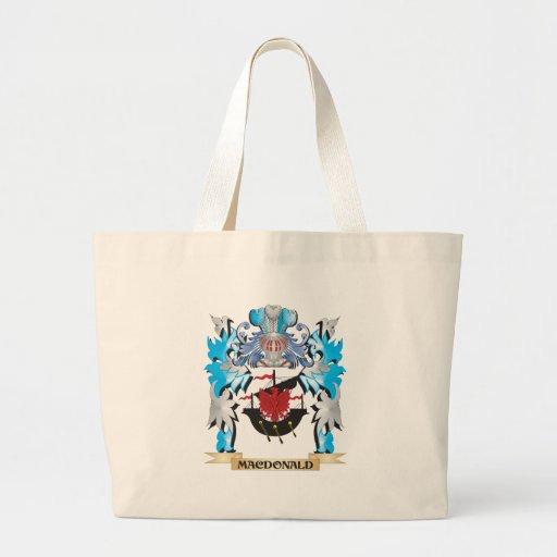 Macdonald Coat of Arms - Family Crest Bag