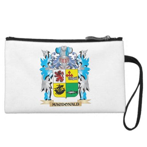 Macdonald- Coat of Arms - Family Crest Wristlet Purses