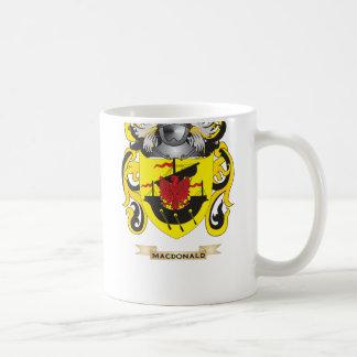 MacDonald Coat of Arms (Family Crest) Basic White Mug
