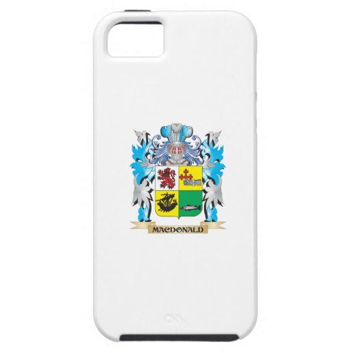 Macdonald- Coat of Arms - Family Crest iPhone 5/5S Cases