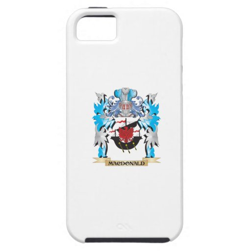 Macdonald Coat of Arms - Family Crest iPhone 5/5S Covers