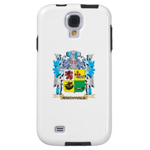 Macdonald- Coat of Arms - Family Crest Galaxy S4 Case