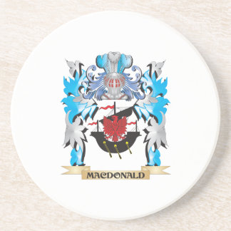 Macdonald Coat of Arms - Family Crest Beverage Coasters
