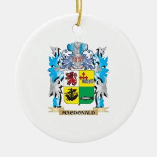 Macdonald- Coat of Arms - Family Crest Ornaments