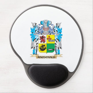 Macdonald- Coat of Arms - Family Crest Gel Mouse Pad
