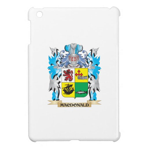 Macdonald- Coat of Arms - Family Crest Case For The iPad Mini