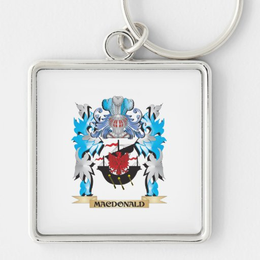 Macdonald Coat of Arms - Family Crest Keychain