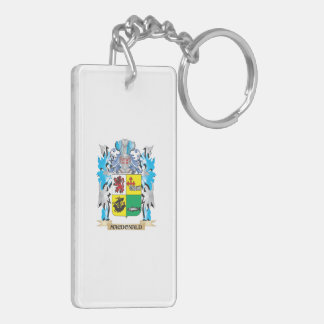Macdonald- Coat of Arms - Family Crest Key Chain