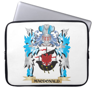 Macdonald Coat of Arms - Family Crest Laptop Computer Sleeves