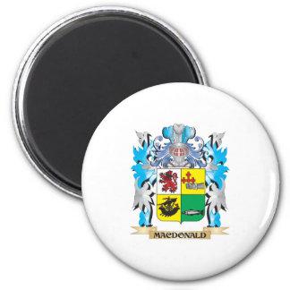 Macdonald- Coat of Arms - Family Crest Fridge Magnet