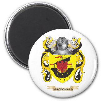 MacDonald Coat of Arms (Family Crest) Refrigerator Magnets