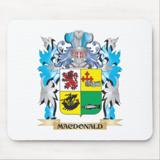 Macdonald- Coat of Arms - Family Crest Mouse Pads