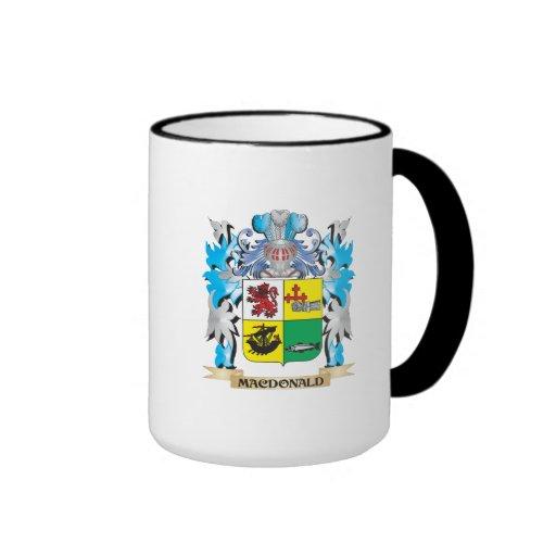 Macdonald- Coat of Arms - Family Crest Mug