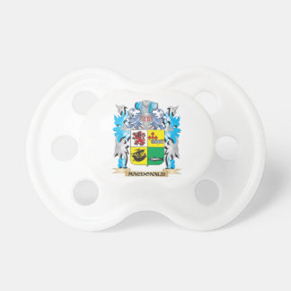 Macdonald- Coat of Arms - Family Crest Pacifier