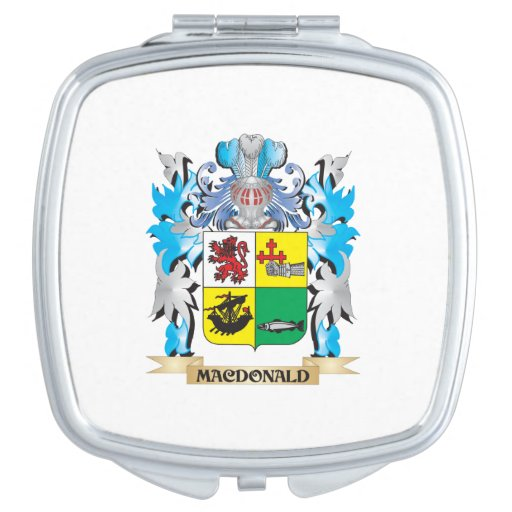 Macdonald- Coat of Arms - Family Crest Compact Mirrors