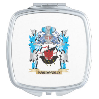 Macdonald Coat of Arms - Family Crest Compact Mirrors